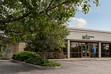 mason ohio bank deerfield township center